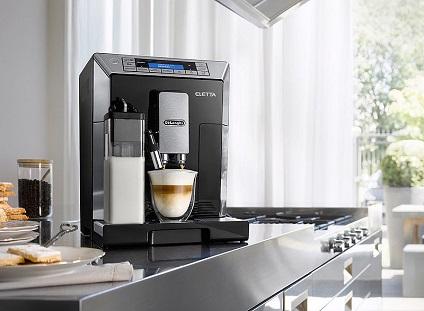 Kaffeevollautomat_ECAM_45.366_Dhelongi_Presse