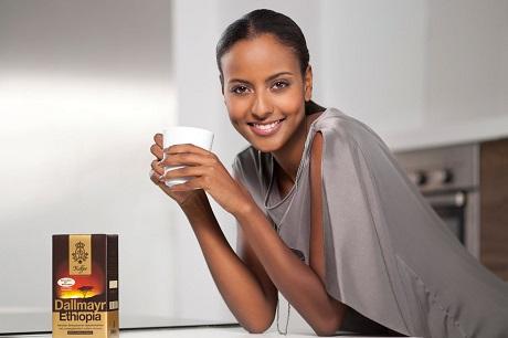 Sara Nuru und Dallmayr: gemeinsam für Äthiopien