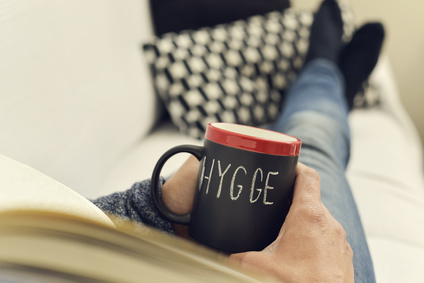 hygge, danish word for comfort or enjoy