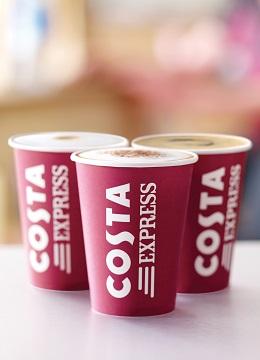 3 costa express cups